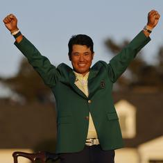 Golf: Hideki Matsuyama's journey to the Masters triumph is as epic as his win