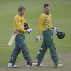 Second T20I: South Africa beat Pakistan by six wickets to level series