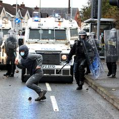 Born of strife, Northern Ireland has again erupted in political violence