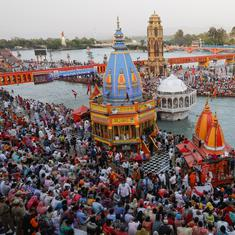 Kumbh Mela: Haridwar records 1,002 new Covid cases in two days as thousands gather for event