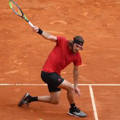 French Open, day 10 results: End of a long wait for Pavlyuchenkova, Tsitsipas downs Medvedev