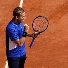 Watch: Novak Djokovic's unbeaten 2021 run snapped by Dan Evans at Monte Carlo Masters