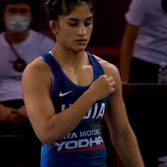Wrestling Asian C'ships: Indian women dominate as Vinesh Phogat, Anshu Malik, Divya Kakran bag gold