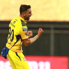 IPL 2021: Deepak Chahar stars as CSK outplay Punjab Kings in MS Dhoni's milestone match