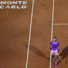 Monte Carlo Masters: Andrey Rublev outlasts 11-time champion Rafael Nadal in three-set battle