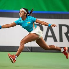 Billie Jean King Cup: Ankita Raina goes down fighting to Jelena Ostapenko as India trail 0-2