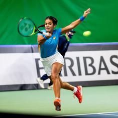 Billie Jean King Cup: Ankita Raina goes down to Anastasija Sevastova as India lose Playoffs tie