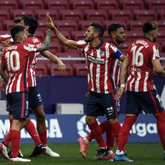 La Liga: Advantage Atletico in title race as depleted Real Madrid held by Getafe