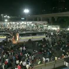 Lockdown fear: Migrant workers rush home from Delhi, Maharashtra