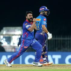 IPL 2021: Amit Mishra's guile sets up a much-awaited win for Delhi Capitals against Mumbai Indians
