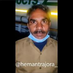Watch: 'Farmers did not stop us', driver of vehicle carrying oxygen to Delhi hospital clarifies