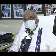 'We're supposed to give life': Delhi hospital CEO breaks down talking about Covid-19 oxygen crisis