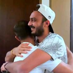 Watch: 'Just looking at people is making me happy' – Axar Patel returns to Delhi Capitals' bubble