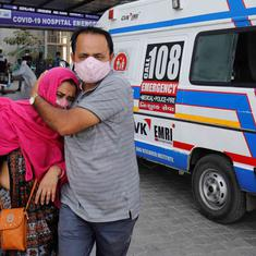 Ahmedabad scraps rule asking hospitals to only accept Covid patients coming in via '108' ambulances