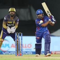 IPL 2021: Prithvi Shaw's blistering innings powers Delhi Capitals to a comfortable win over KKR