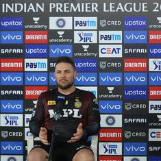 Watch: KKR coach Brendon McCullum slams team's batting approach, says change is on the cards