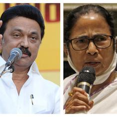 Assembly polls: Politicians congratulate Mamata Banerjee, Stalin, Pinarayi Vijayan for beating BJP