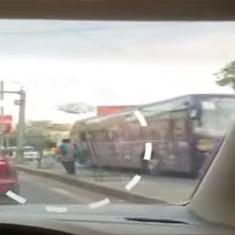 Watch: Ambulance stopped to allow IPL convoy to pass in Ahmedabad, Gujarat