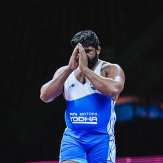 Wrestling World Olympic qualifier: Sumit earns 125kg quota for Tokyo 2020; Kadian, Dhankar lose