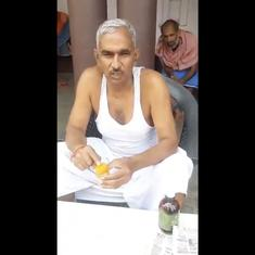 Watch: BJP MLA Surendra Singh says drinking cow urine on an empty stomach will ward off Covid-19