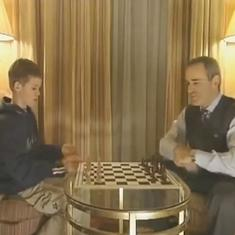 Watch: When a young Magnus Carlsen learnt chess lessons from the legendary Gary Kasparov