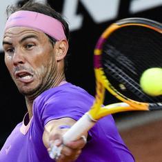 Italian Open: Nadal sees off Sinner to reach third round, Medvedev stunned by Karatsev