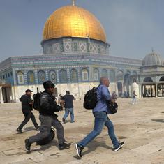 Why the Al-Aqsa Mosque has often been a site of conflict between Israel and Palestine
