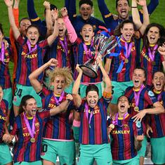 Women's Champions League: Barcelona thrash Chelsea in the final to win first-ever title