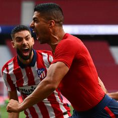 La Liga: Atletico Madrid close in on title after comeback victory as Real keep pace with Bilbao win
