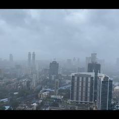 Watch: Mumbai sees heavy rain, gusty winds, collapsed tree as Cyclone Tauktae intensifies