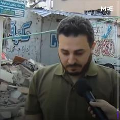 'Stopped eating so I could afford it': Owner of largest Gaza bookshop after Israeli airstrike on it