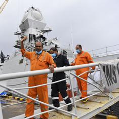 Cyclone Tauktae: FIR registered against captain of barge that sank in Arabian Sea
