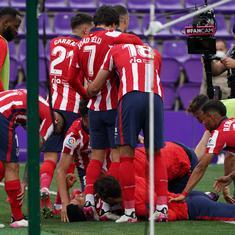 Atletico Madrid win La Liga after dramatic title race as Luiz Suarez finds vindication