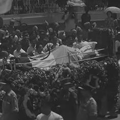 Watch: On Jawaharlal Nehru's death anniversary, a look back at glimpses from his final journey