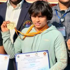 Wrestling: National champion Nandini Salokhe, Vinesh's backup for Olympics, left to fend for herself