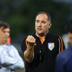 There is no pressure in ISL without relegation, international football is different: Igor Stimac