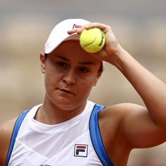 I've had my fair share of tears this week: Heartbroken Ash Barty on injury-forced French Open exit
