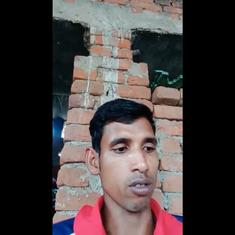 'Poverty is my fate': Construction worker Gulzar's song about struggles during the Covid-19 lockdown