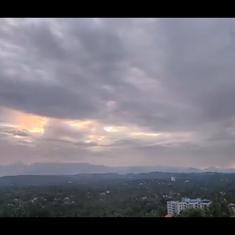 Watch: Southwest monsoon arrives in Kerala with light showers and stunning views