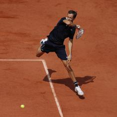 Watch: 'Cash is king' – Daniil Medvedev on night matches at Roland Garros without fans