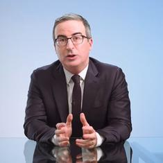 Watch: John Oliver discusses 'model minority' Asian Americans and need to disaggregate data on them