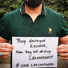 Lakshadweep residents hold hunger strikes in protest against proposed regulations