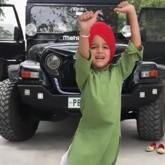 Watch: Six-year-old boy in Canada puts up impressive Bhangra dance performances