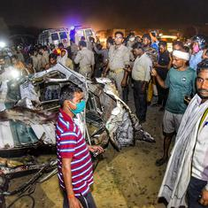 Kanpur: 17 killed, four injured in collision between bus and three-wheeler