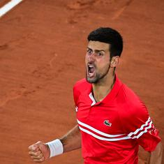 French Open: Novak Djokovic reaches semi-final, sets up 58th meeting with Rafael Nadal