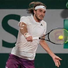 French Open men's singles semifinal live: Tsitsipas beats Zverev in five sets to reach first final