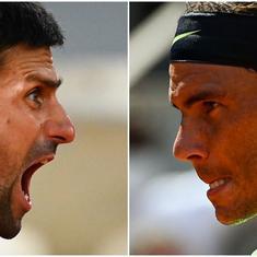 French Open semi-final live: Novak Djokovic ends Rafael Nadal's reign at Roland Garros