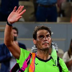 Watch: 'Life goes on, it's nothing more than a defeat' – Rafael Nadal after rare French Open loss
