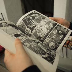 Kapow! Zap! Splat! How comics make sound on the page
