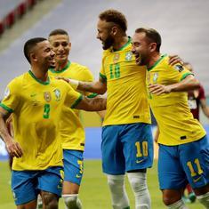 Copa America: Neymar shines as Brazil cruise to win over depleted Venezuela in tournament opener